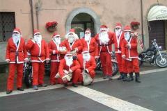 Babbi Natale in moto