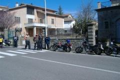 Castel del Piano - Prima uscita Motoclub